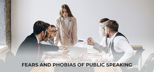 Fears and phobias of public speaking